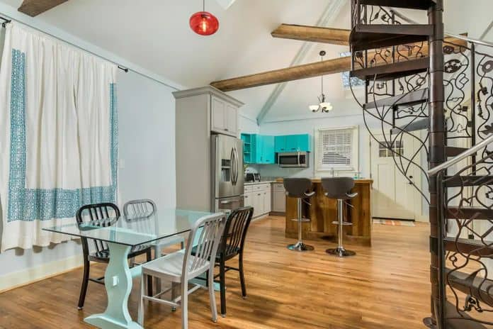 Airbnb Chattanoga The Blue Bungalows Sibling
