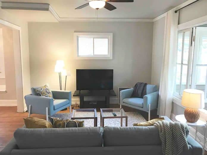 Airbnb Indianapolis SoBro Bungalow