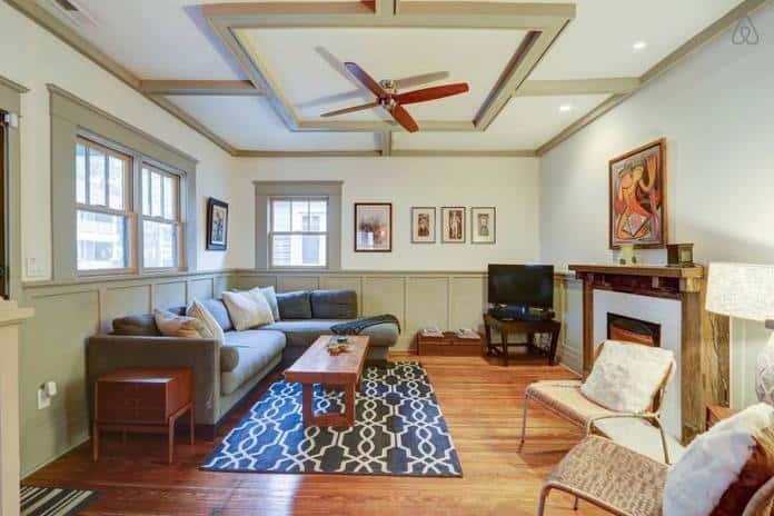 Airbnb Savannah GA Elegant 2 Bedroom Bungalow