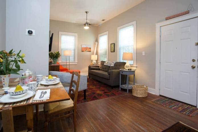 Airbnb Savannah GA Jasmine Cottage