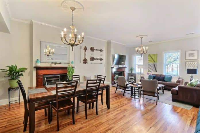Airbnb Savannah GA Stayloom's Bright