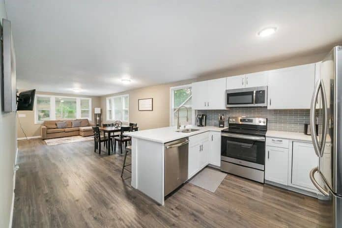 Airbnb Spokane Modern House