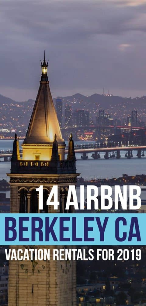 Plan your trip to Berkeley CA and visit Sather Tower, Tilden Regional Park, and Codornices Park while staying at the best Airbnb in Berkeley!