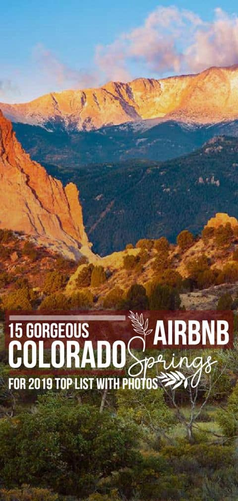 Find out where are the best Airbnb rentals in Colorado Springs, and pick the perfect option for your travel arrangements.