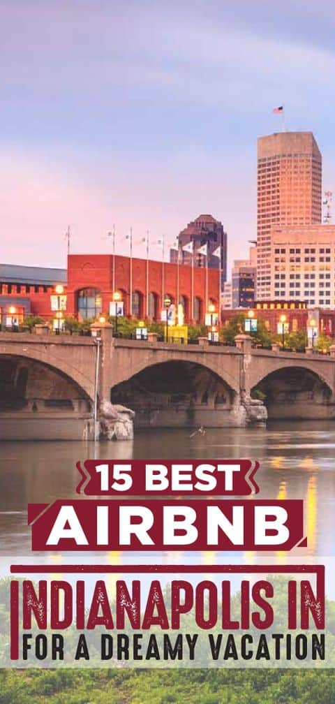 Travel to Indianapolis and visit the White River State Park And Indiana State Museum while staying at the best Airbnb Indianapolis!