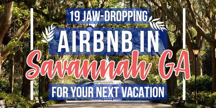airbnb savannah ga facebook vacation rentals