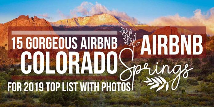 colorado springs vacation rentals