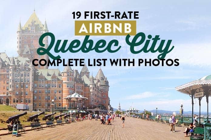 quebec airbnb vacation rentals