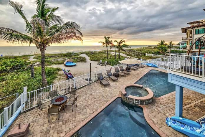 Airbnb Florida Oceanfront mansion