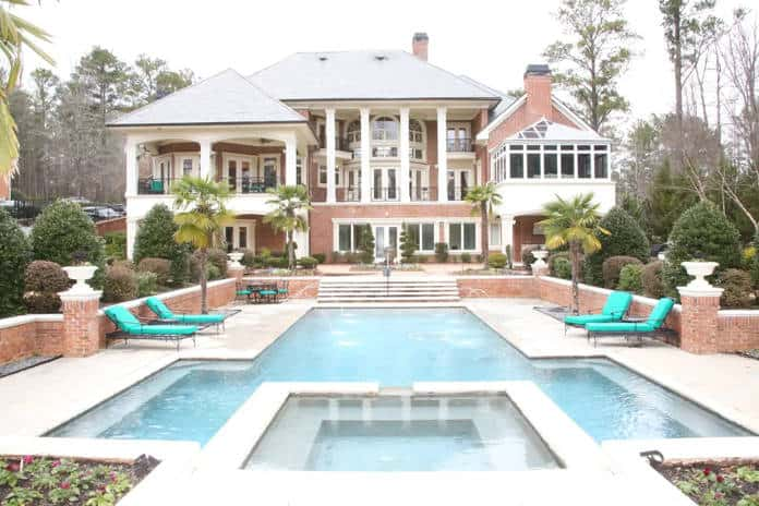 georgia airbnb airbnb atlanta mansion with pool