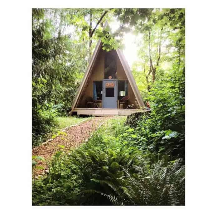 Airbnb Washington Camp Singing Wind