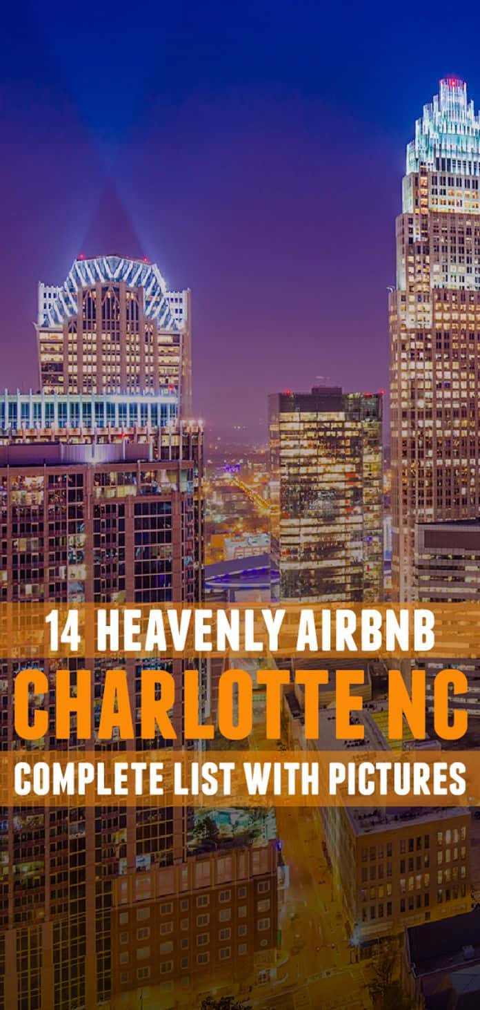 Book and stay in this Airbnb Charlotte rentals while you are visiting some of the best places in the city such as Romare Bearden Park and NASCAR Hall of Fame.
