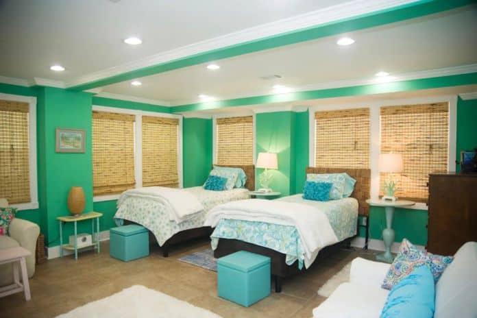 Airbnb Savannah pet Springtide Suite