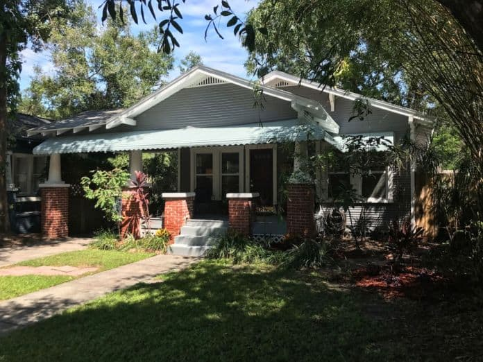 Airbnb Tampa Charming Historic Bungalow