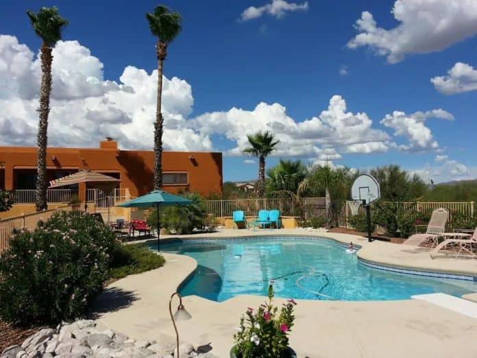 Airbnb Tucson Private Desert Casita