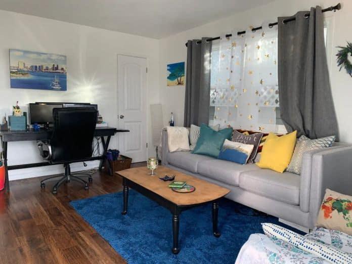 Airbnb San Diego California Artsy Home w Jacuzzi