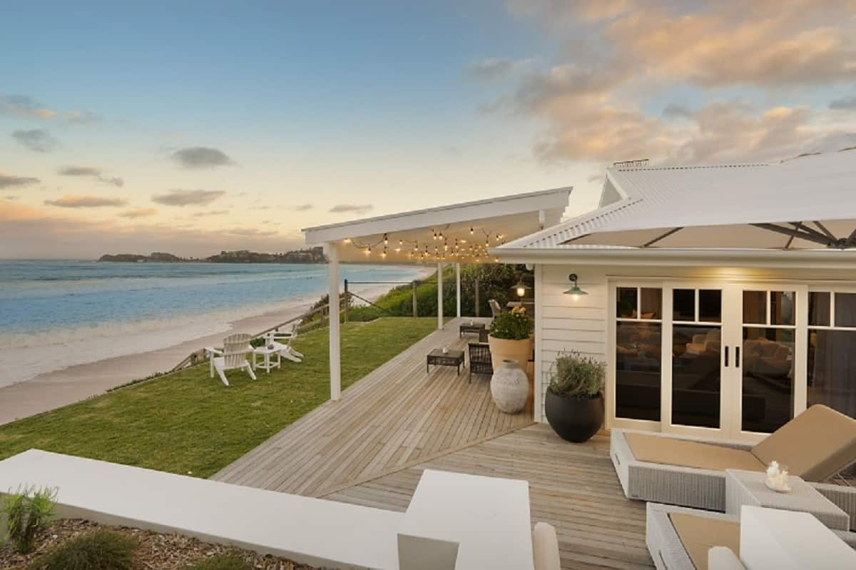 Photo of a top airbnb terrigal titled: THE TONIC - LUXURY BEACHFRONT HOME relevant to terrigal holiday rental accomodation